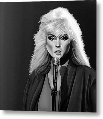 Debbie Harry Metal Print by Meijering Manupix