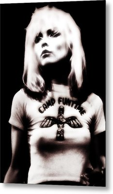Deborah Harry Metal Print by Selke Boris