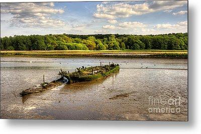 Decay Boats Metal Print by Svetlana Sewell
