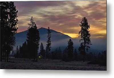 Metal Print featuring the photograph December Dawn by Julia Hassett