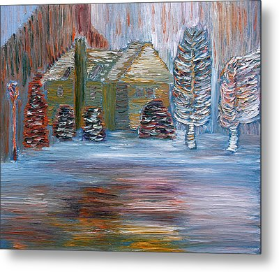 December In Highland New York Metal Print by Vadim Levin