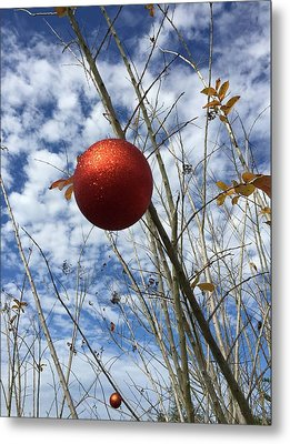 Metal Print featuring the photograph December by Jean Marie Maggi