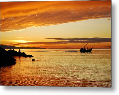 Metal Print featuring the photograph Deception Pass by Kjirsten Collier