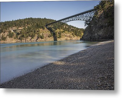 Deception Pass State Park Metal Print by Calazone's Flics