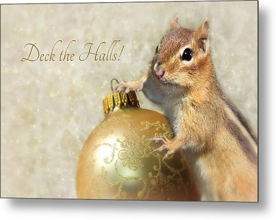 Deck The Halls Metal Print by Lori Deiter