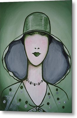 Deco Chic Metal Print by Leslie Manley