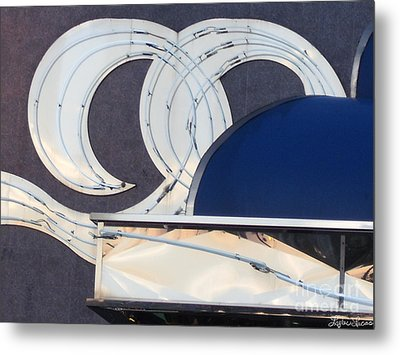 Metal Print featuring the photograph Deco Waves by Lyric Lucas