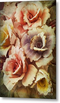 Decoration Flower Metal Print by Mohamed Elkhamisy