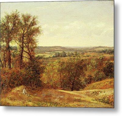 Dedham Vale, John Constable, 1776-1837 Metal Print
