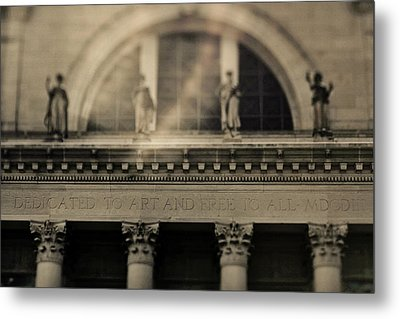 Dedicated To Art Metal Print by Heather Green