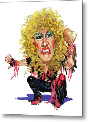 Dee Snider Metal Print by Art