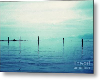 Deep Blue Bay Metal Print by Scott Allison