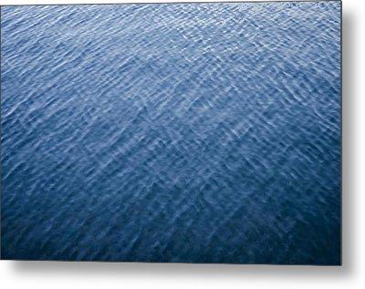 Deep Blue Water Metal Print