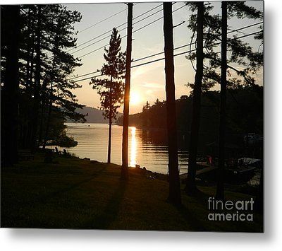 Metal Print featuring the photograph Deep Creek Lake Park Md by Emmy Marie Vickers