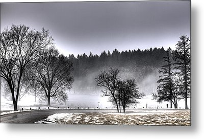Deep Fog Over Marmo Metal Print