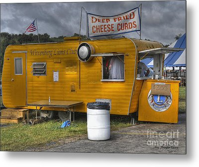 Deep Fried Cheese Curds Metal Print