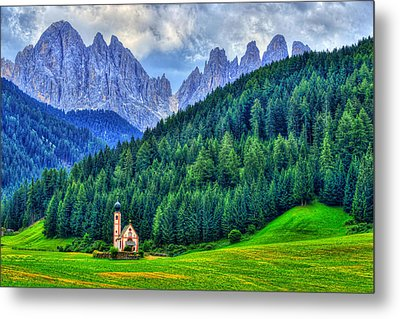 Deep In The Mountains Metal Print