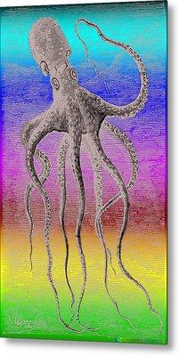 Deep Monster Metal Print by Eric Edelman