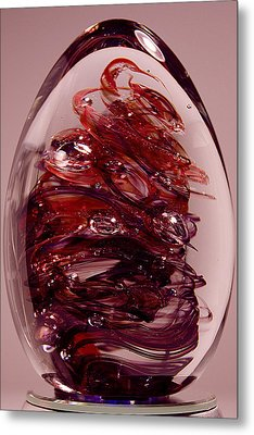 Deep Reds II  Pre1 Metal Print by David Patterson