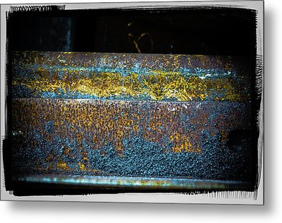 Metal Print featuring the photograph Deep Rust by Craig Perry-Ollila