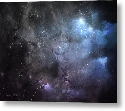 Metal Print featuring the photograph Deep Space by Cynthia Lassiter