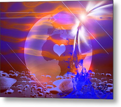 Deep Transformation Metal Print