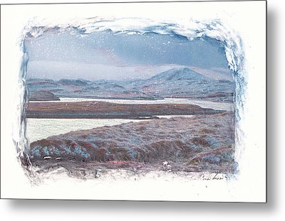 Metal Print featuring the mixed media Deep Winter by Carla Woody