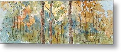 Deep Woods Waskesiu Horizontal Metal Print
