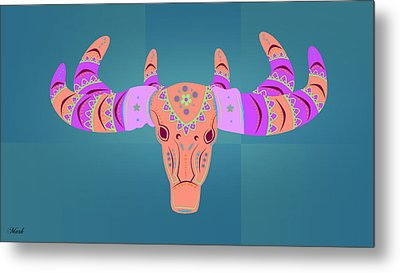 Deer 3 Metal Print by Mark Ashkenazi