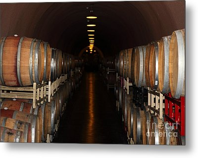 Deerfield Ranch Winery 5d22218 Metal Print by Wingsdomain Art and Photography