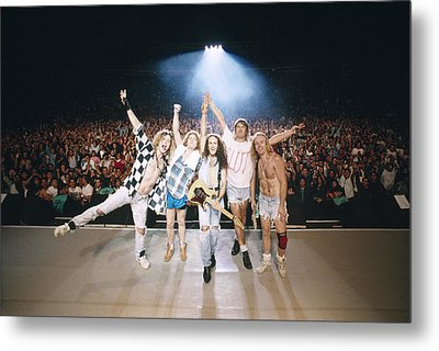 Def Leppard - Adrenalize Tour 1992 - On Stage Metal Print by Epic Rights
