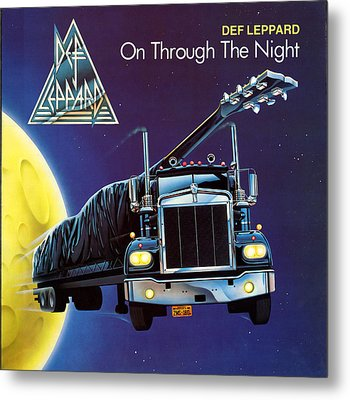 Def Leppard - On Through The Night 1980 Metal Print by Epic Rights