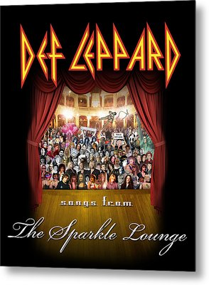 Def Leppard - Songs From The Sparkle Lounge 2008 Metal Print by Epic Rights
