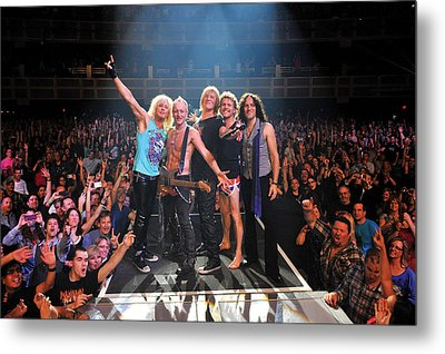 Def Leppard - Viva! Hysteria At The Hard Rock 2013 Metal Print by Epic Rights