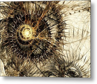 Defense Mechanism Metal Print