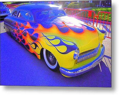 Metal Print featuring the photograph Definitely A Hot Rod by Don Struke