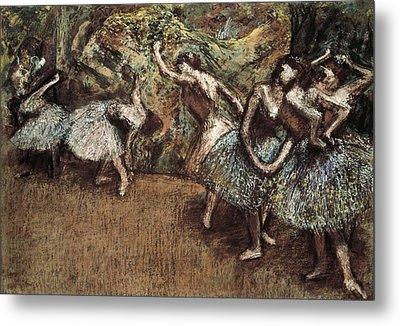 Degas, Edgar 1834-1917. Ballet Scene Metal Print