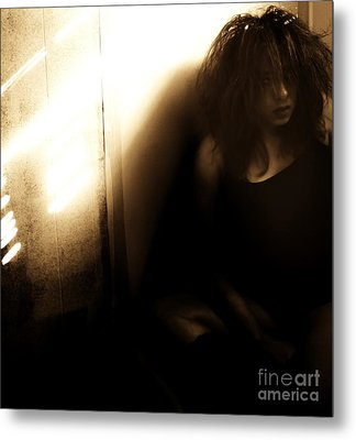Dejection Metal Print by Jessica Shelton