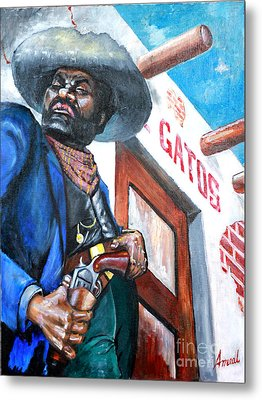 Del Gato's Place Metal Print by George Ameal Wilson