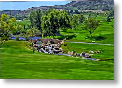 Del Mar Country Club Metal Print by Michael Pickett