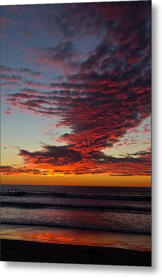 Del Mar Sunset 16 Metal Print