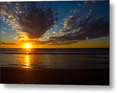 Del Mar Sunset 7 Metal Print