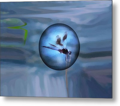 Delayed Flight Metal Print by Wendy J St Christopher