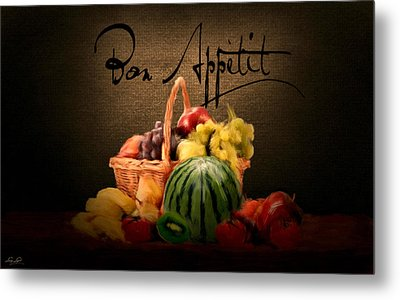 Delectable Sight Metal Print by Lourry Legarde