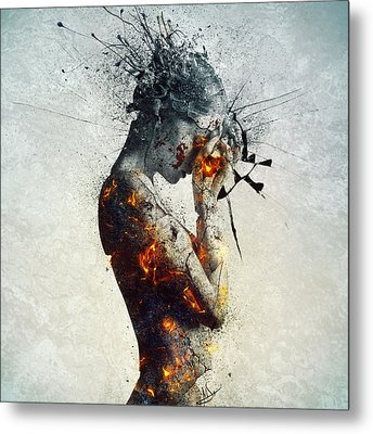 Deliberation Metal Print by Mario Sanchez Nevado