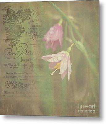 Delicate Blooms Metal Print