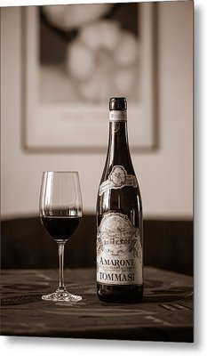 Delicious Amarone Metal Print by Ari Salmela