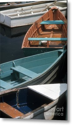 Metal Print featuring the photograph Delightful Dinghies by ELDavis Photography
