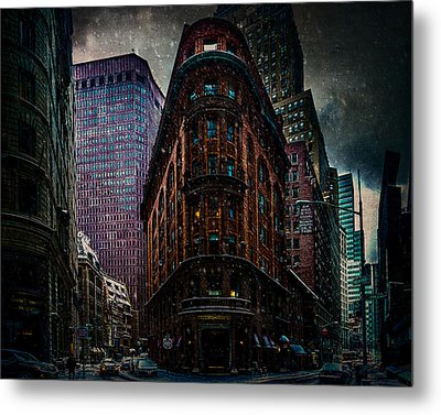 Delmonico's Metal Print by Chris Lord