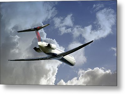 Delta Jet Metal Print by Brian Wallace